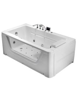 Gemy G9225 K Ванна гидромассажная пристенная, 172х91 см, белый