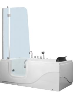 Gemy G9246 B Ванна гидромассажная пристенная, 170х80 см, белый