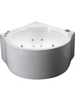 Gemy G9251 K Ванна гидромассажная пристенная, 140х140 см, белый