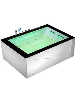 Gemy G9259 Ванна гидромассажная пристенная, 180х130 см