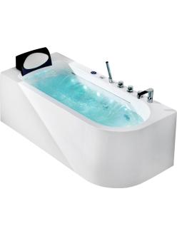 Gemy G9261-1.7 Ванна гидромассажная пристенная, 170х75 см
