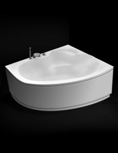 GNT Grace 150x100 – Асимметричная угловая акриловая ванна