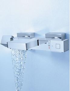 Grohe Grohtherm Cube 34497000 смеситель для ванной с термостатом