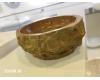 Асимметричная раковина-чаша Natural Stone Red из натурального мрамора