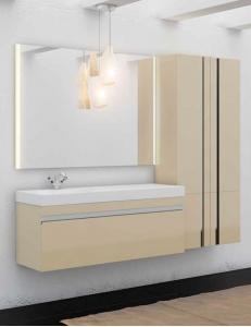 LOTOS 130 – Подвесной комплект мебели с одним выдвижным ящиком