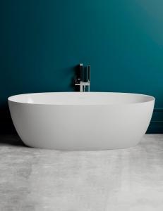 Salini ALDA Nuova 178 Отдельностоящая ванна из литьевого мрамора