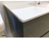 Тумба 100 см VALLESSI 837-100-C matt с керамической перламутровой раковиной