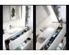 Тумба VALLESSI 837-100-W с керамической перламутровой раковиной 101 см