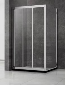 Veconi RV-031 – Душевой угол, Раздвижной, Алюминий, 6 мм