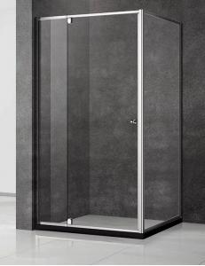 Veconi RV-032 – Душевой угол, Распашной, Алюминий, 6 мм