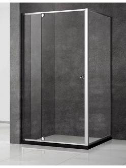 Veconi RV-032 – Душевой угол, распашной, Алюминий, стекло 6 мм