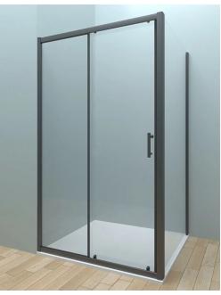 Veconi RV-072 – Душевой угол, раздвижной, Алюминий, стекло 6 мм