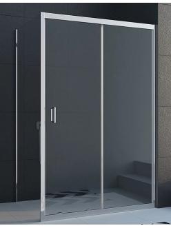 Veconi RV-046 – Душевой угол, раздвижной, Алюминий, стекло 6 мм