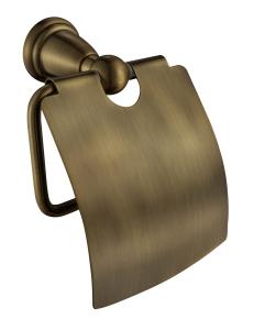 Aksy Bagno Mona 7212 Bronze Бумагодержатель с крышкой