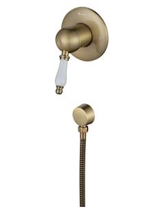 Aksy Bagno Biti 330 Bronze смеситель для душа встроенный