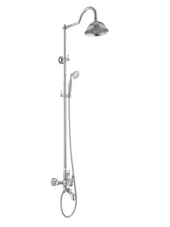 Душевая стойка Aksy Bagno Faenza-Light 401 Хром