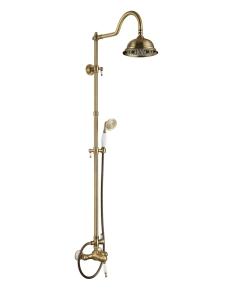 Aksy Bagno Faenza Fa410-2002-2001-Bronze Душевая стойка