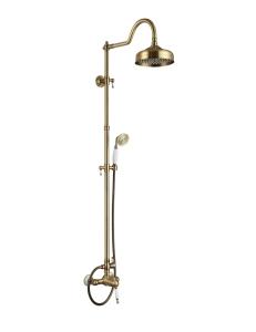 Aksy Bagno Faenza Fa410-2002-2004-Bronze Душевая стойка