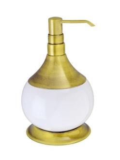 Aksy Bagno Fantasia 6730 Настольный дозатор для мыла (Хром, Бронза, Золото)