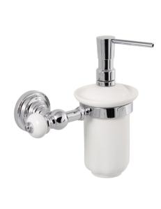 Aksy Bagno Fantasia 8414 Дозатор для мыла подвесной (Хром, Бронза)