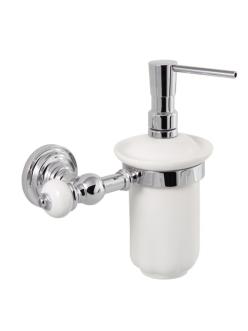 Aksy Bagno Fantasia 8414 Подвесной дозатор для мыла (Хром, Бронза)