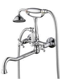 Aksy Bagno Lucia 201 Crome Смеситель для ванны
