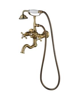 Смеситель для ванной Aksy Bagno Primavera 101 Бронза