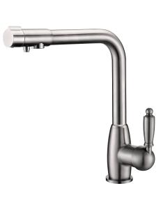 Aksy Bagno TL-1514-nickel смеситель для кухни
