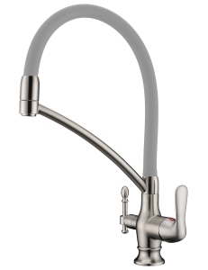 Aksy Bagno TL-18023-nickel смеситель для кухни