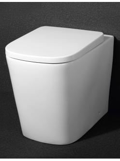 BelBagno Albano BB120CB – Унитаз приставной P-trap с сиденьем микролифт BB120SC