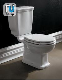 BelBagno Boheme BB115CPS – Унитаз с бачком, арматурой и белым сиденьем