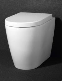 BelBagno Marino BB105CB – Унитаз приставной P-trap с сиденьем SoftClose