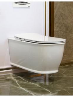 BelBagno Prado BB10150CH Унитаз подвесной, безободковый
