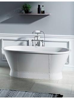 BelBagno BB35 Ванна отдельностоящая 168х78 см (Белый глянец)