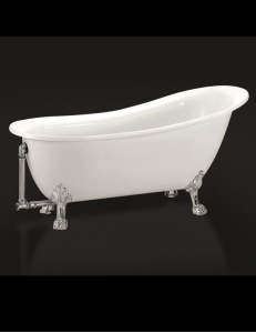 BelBagno BB06-1550 Ванна отдельностоящая 155x76 см, белый