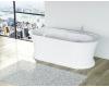 BelBagno BB300 Ванна отдельностоящая 169х81 белый