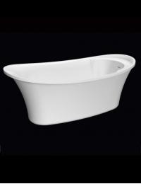 BelBagno BB302 Ванна отдельностоящая 167х75 см, белый