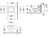 Унитаз подвесной Duravit DuraStyle 253609 00 00
