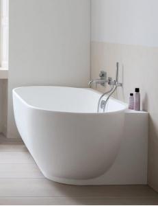 Duravit Luv 700433000000000 Ванна из минерального литья 180 см, белый