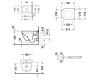 Duravit Starck 3 45270900A1 Унитаз подвесной с сиденьем