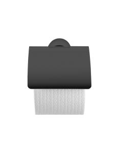 Duravit Starck T 0099404600 Держатель туалетной бумаги с крышкой, подвесной, черный