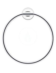 Duravit Starck T 0099471000 Полотенцедержатель - кольцо, хром