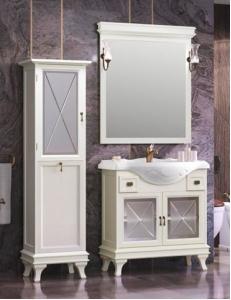 Opadiris Борджи 85 Комплект мебели для ванной в цвете Слоновая кость