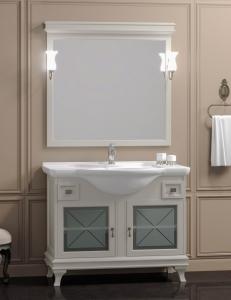 Opadiris Борджи 105 Комплект мебели для ванной в цвете Слоновая кость