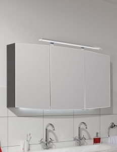 Puris Classic Line Serie-A Зеркальный шкаф на 70, 90, 120 или 140 см, с подсветкой