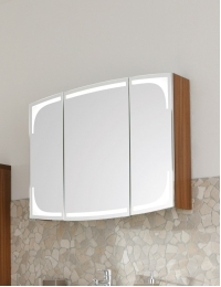 Puris Classic Line Serie-B Зеркальный шкаф на 70, 90, 120 или 140 см, с подсветкой