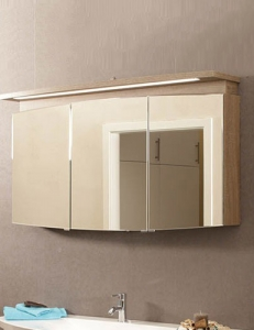 Puris Classic Line Serie-C Зеркальный шкаф на 70, 90, 120 или 140 см, с подсветкой