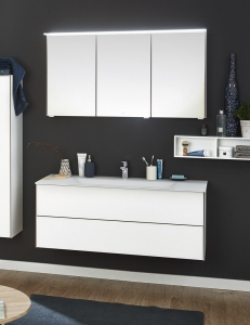 Puris Ice line 120 – Комплект мебели для ванной комнаты