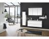 Puris Ice line 120 – Комплект мебели для ванной комнаты, тумба с 2-мя ящиками