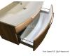 Тумба Puris Speed 120 WUA 3512 14 – Мебель подвесная, два выдвижных ящика